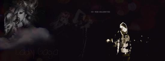 o8. célébrité : lady gaga création faite par moi-même.