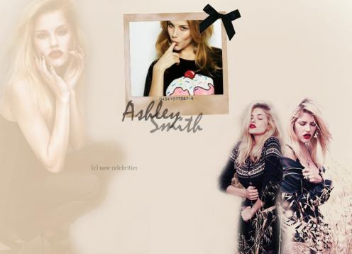 1o. célébrité : Ashley Smith création faite par moi-même.