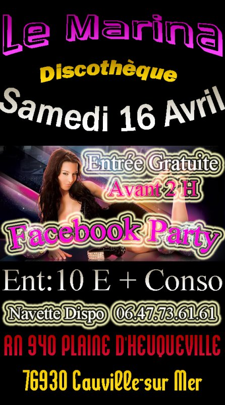 "FACEBOOK PARTY "" AMBIANCE FUN RADIO """