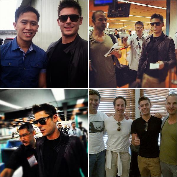 Zac Efron est au Philippine !