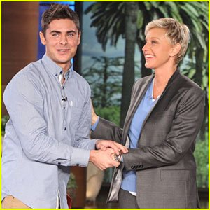 Zac Efron chez Ellen !