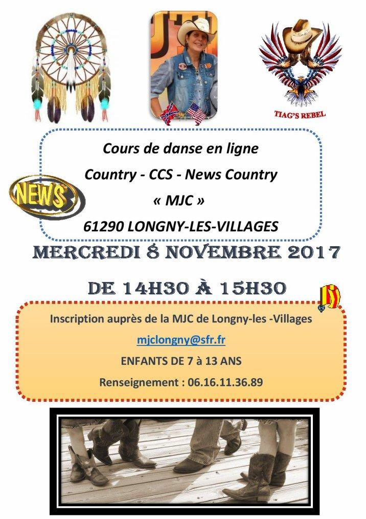 NEWS -- COURS à la MJC de Longny-les-Villages