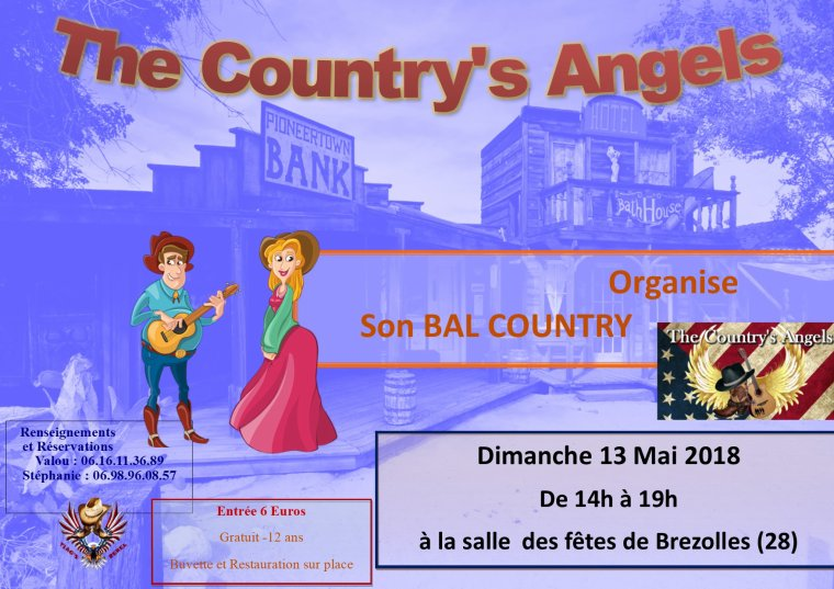 2ème BAL des THE COUNTRY'S ANGELS -- 13 MAI 2018