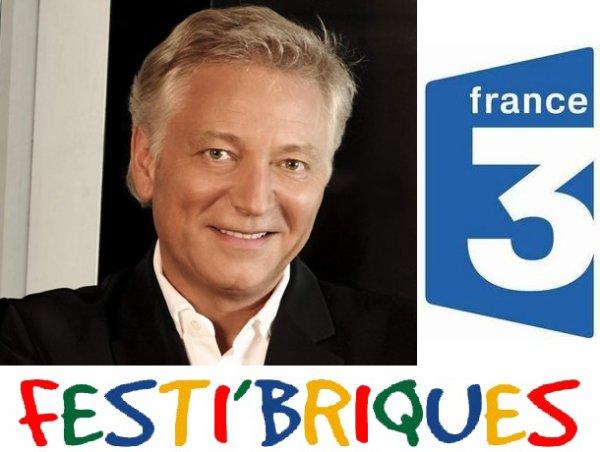Laurent Boyer invite le président de Festi'briques lors de l'émission midi en France (Mardi 29 mars entre 12h-14h sur France 3 nationale)