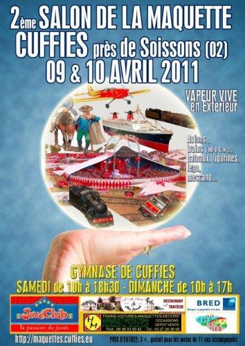 Festi'Expo: exposition des Festi'briques à Cuffies les 9 et 10 avril 2011
