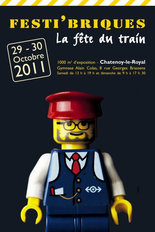 Les Inscription des exposants pour Festi'briques 2011 sont cloturées ! Nous sommes 70 ! Que la fête du train commence !