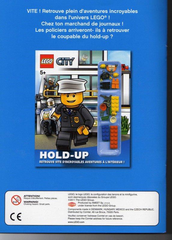 Attention: N°2 le mag avec la Figurine Chantier disponible en français en librairie cette semaine !