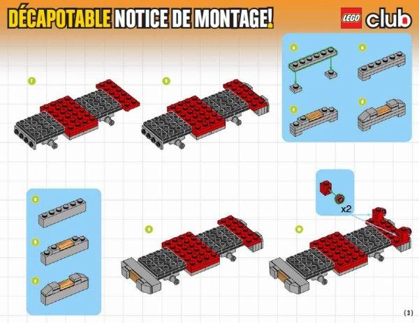 Plan de montage d'une belle voiture...www.lego.com