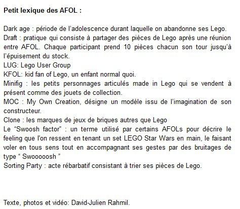 Paroles Adultes Fans de Lego - Brain magazine - http://www.brain-magazine.com/reportages/95-accueil/6129-paroles-dadultes-fans-de-lego