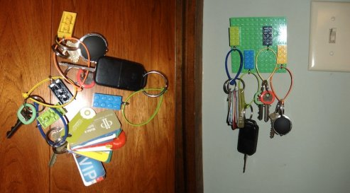 Le porte porte-clés :)... va vous changer la vie...