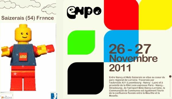 Expo 100% Lego en Lorraine organisée par l'association Philéas, les Festi'briques  seront de la partie !