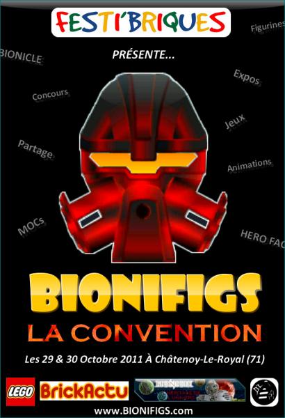 BIONIFIGS vous invite à la Convention des fans de Figurines LEGO®