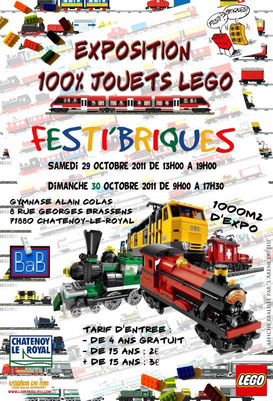 J - 53 : exposition Festi'briques du 29 au 30 octobre 2011 !