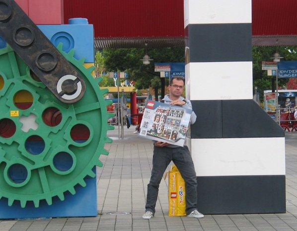 c'était le week-end dernier la sortie des Fanabriques au parc Legoland d'Allemagne