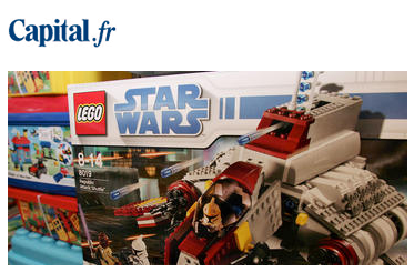 "Capital.fr : Comment ""Star Wars"" a redonné la force à Lego"