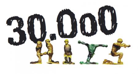 chiffre du Jour: le blog dépasse les 30000 visiteurs