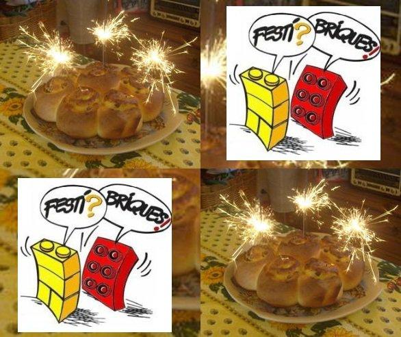 Joyeux anniversaire à l'association Festi'briques: 3ans