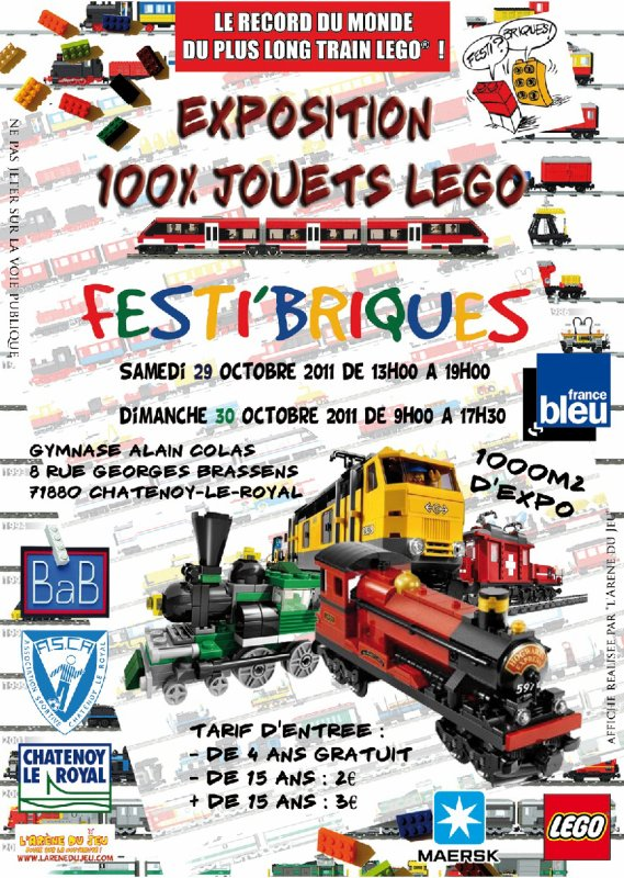 J-4 : Festi'briques dans le journal de Saône et Loire !