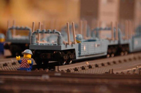 Rien de mieux après Festi2011 qu'une sieste dans un wagon Maersk...