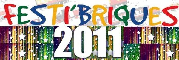 Chiffre officiel des entrées de Festi'briques 2011: 3330