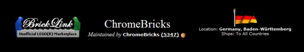 la boutique Bricklink retenue pour notre achat groupé est ChromeBricks !