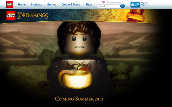 Lego officialise sur son site la licence Lord of the rings confirmé par Jan Beyer