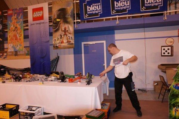 Ceux qui ont fait Festi'briques 2011: le grand maître du GBB Maico Arts (Photo: Lacathe)