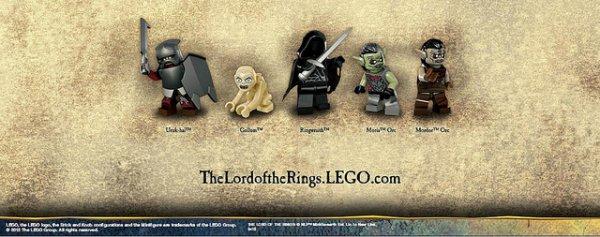 En exclu: les images des minifigs du seigneur de anneaux !