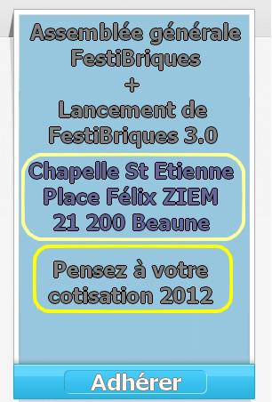 """J- 30: Festi'briques - la Festi-Révolution sortira bientôt... pour le plaisir des AFOLs du Net : www.festibriques.fr - """"il est à Festi il a tout compris"""""""