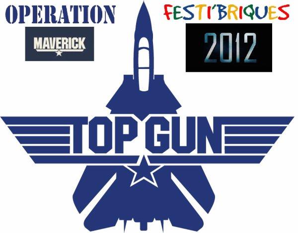 """Après l'opération """"Unstoppable"""" de Festi'briques 2011 voici l'opération """"Maverick"""" pour Festi'briques 2012 d'octobre !"""