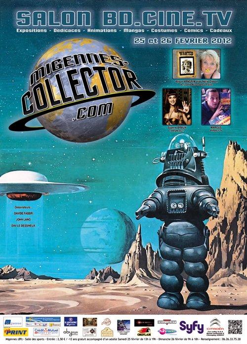Participation des Festi'briques à l'exposition Migennes collector les 25 et 26 février 2012