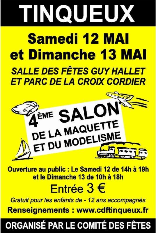 Prochaine exposition des Festi: Tinqueux (51) les 12 et 13 mai 2012
