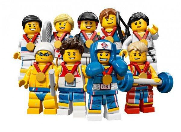 Une série de 9 minifigs sortira le 1ier juillet 2012 pour les JO de Londres
