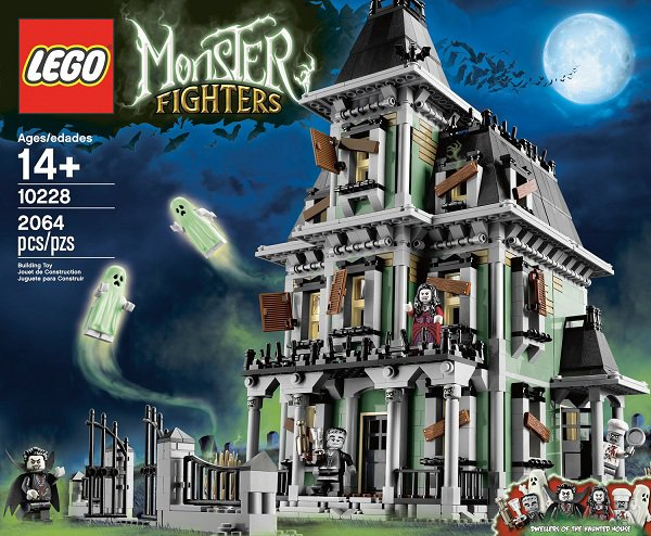 Monster Fighters: la maison Hantée 10228 !!!