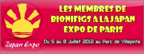 Notre partenaire Bionifigs sera à la Japan Expo