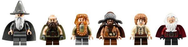 Comic con 2012: révélation d'autres minifigurines du Seigneur des anneaux !