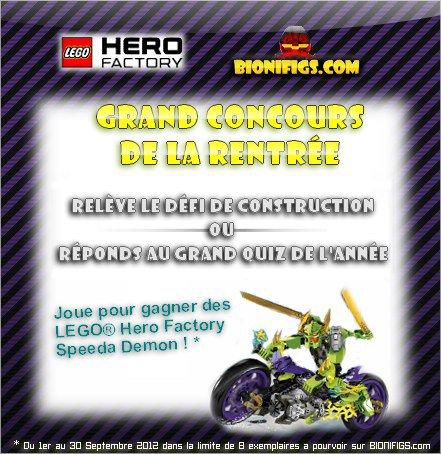 Nouveau concours de nos amis et partenaires les Bionifigs pour la rentrée !!!