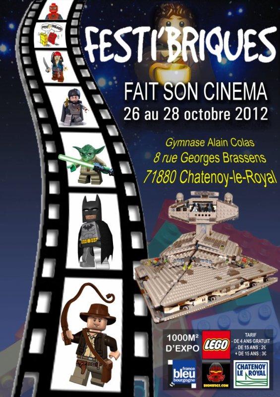 Festibriques 2012: Inédit en France première grande boutique brickarms dans une exposition française