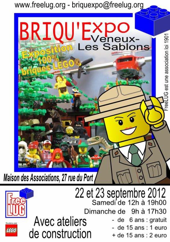 Véneux les Sablon - exposition 100% LEGO de nos amis de Freelug