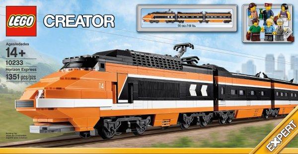 Un image de train voyageur circule: le 10233 Horizon Express (sortie en janvier 2013)
