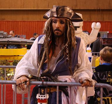 Festi2012 surprise du dimanche: un grand Merci à Christophe véritable Jack Sparrow pour le plaisir de tous