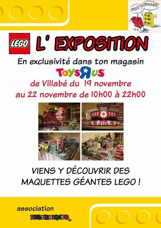 Nouvelle exposition avec notre partenaire Toys R Us sur PARIS !