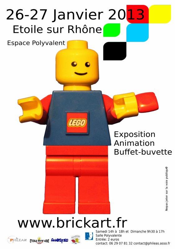 Les Festis sont à l'exposition 100% Lego de Valence ce week-end