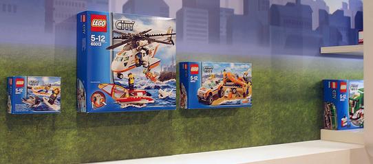 Le toy Fair en ALLemagne dévoile des sets 2013: le retour des gardes-côtes