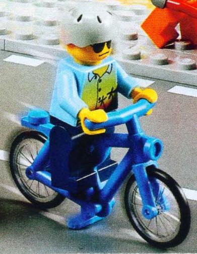 Nouveau vélo bleu ?