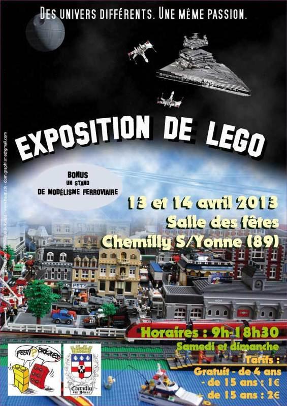 Festi'Briques Bourgogne: Exposition à CHEMILLY SUR YONNE (89) les 13 et 14/04/2013