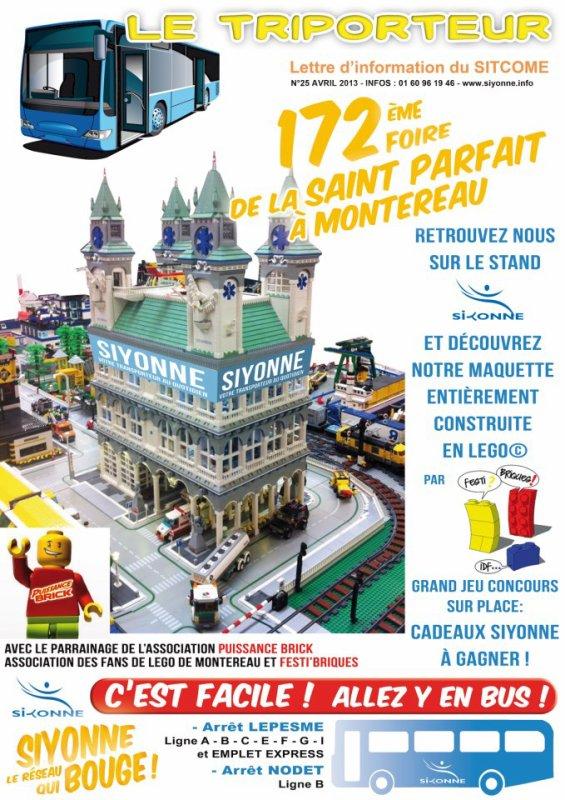 EVENEMENT SIYONNE SUR LA FOIRE de la SAINT PARFAIT à MONTEREAU !Rendez vous donc ce week end du vendredi 19 au lundi 22 avril 2013