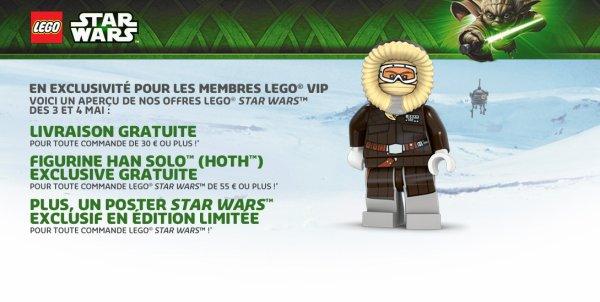 Offre Star Wars sur le shop en l'honneur du 4mai