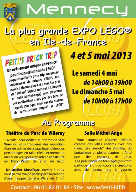 La plus grande exposition d'Ile de France c'est ce week-end !