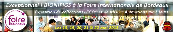 BIONIFIGS à la Foire Internationale de Bordeaux du 18 au 22 mai